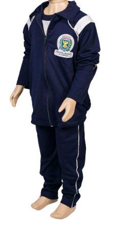 Conjunto uniforme escolar, calça e jaqueta escolar, jandaia do sul