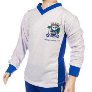 Uniforme escolar, camisa manga longa escolar, jandaia do sul