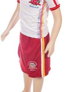 Conjunto uniforme escolar, short saia e camiseta escolar, jandaia do sul